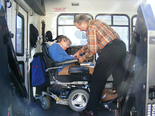 Recommend you Disabled adult transportation system that interfere